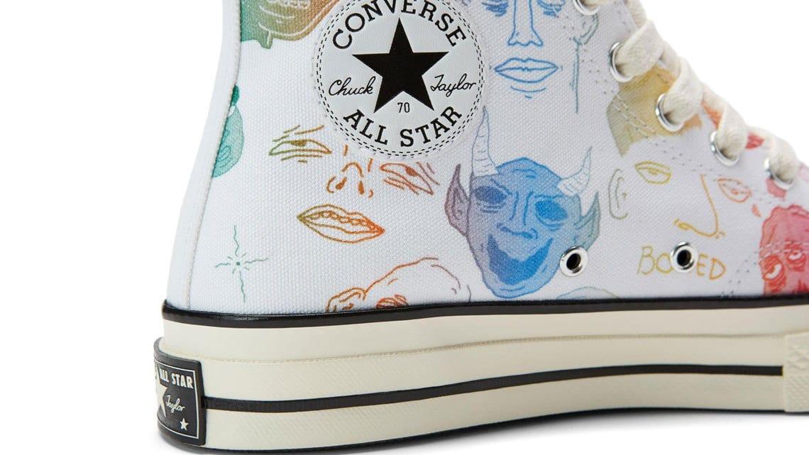 tyler the creator custom converse