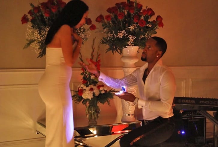 Safaree Asked Erica Mena's Mother and Son for Her Hand in Marriage