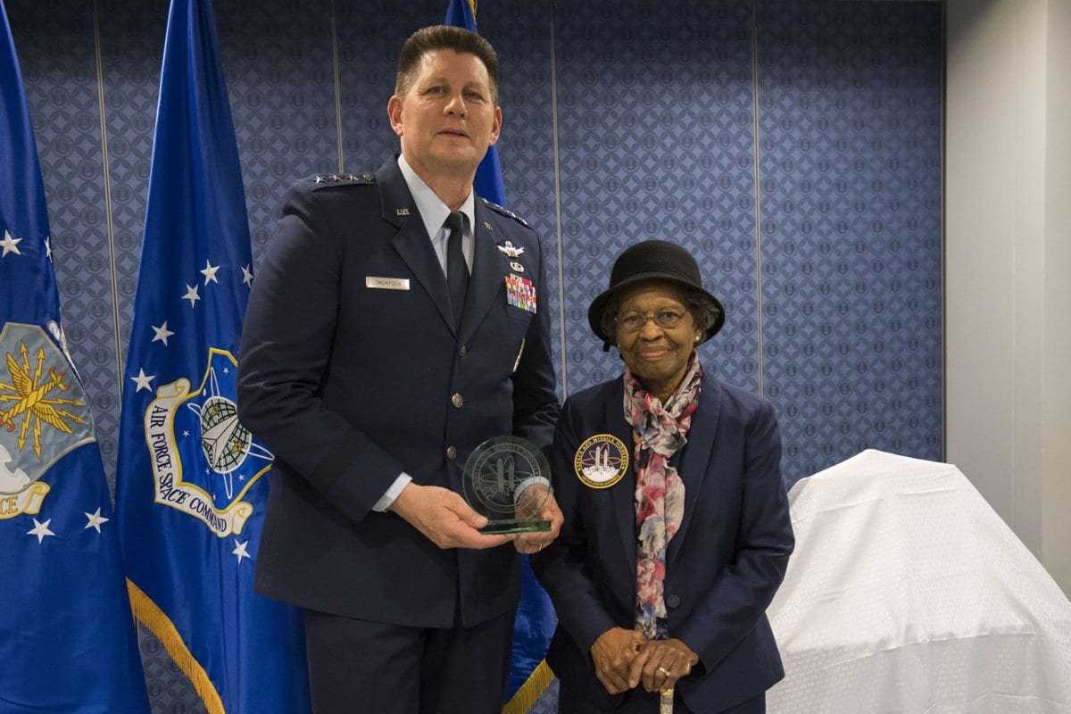 Dr. Gladys West Honored for Her Contributions to the Air Force ...