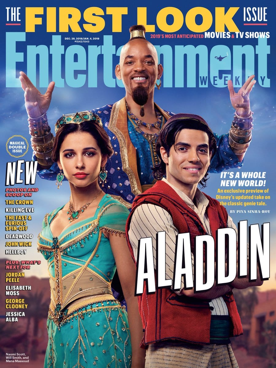 Will Smith Details His Approach to Being the Genie in 'Aladdin'