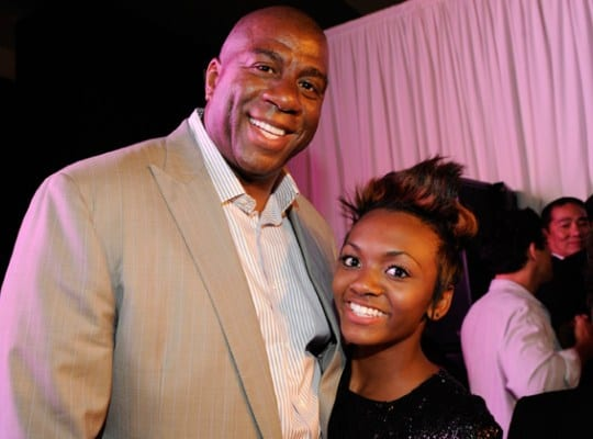 Magic Johnson's Daughter Reportedly Escapes Home Invasion