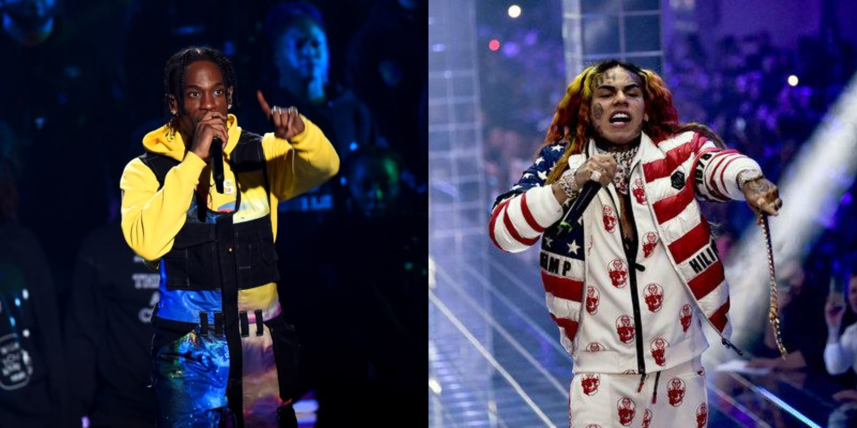 Tekashi 6ix9ine's 'DUMMY BOY' Debuts at No. 2 After Travis Scott's 'ASTROWORLD' Re-Appears at No. 1