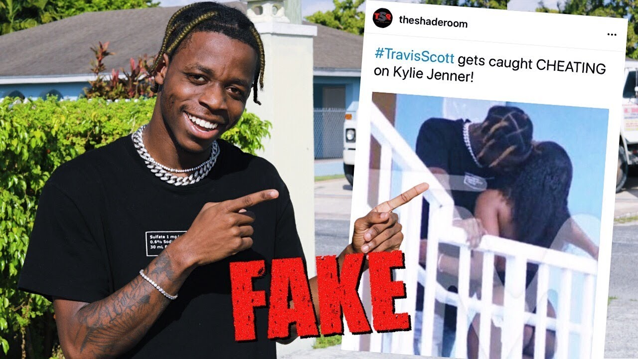 Travis Scott Impersonator Admits to Staging Cheating Photos for Social Experiment