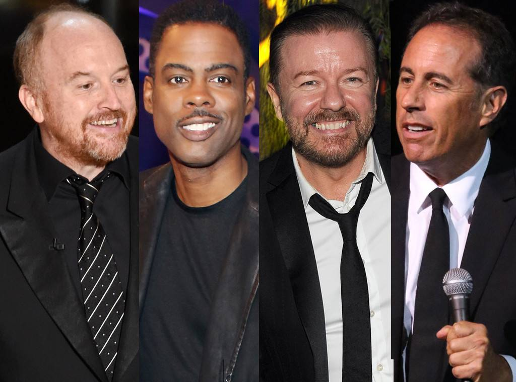 Video Surfaces of Louis C.K. Using N-Word in Front of Chris Rock, Jerry Seinfeld, & Ricky Gervais