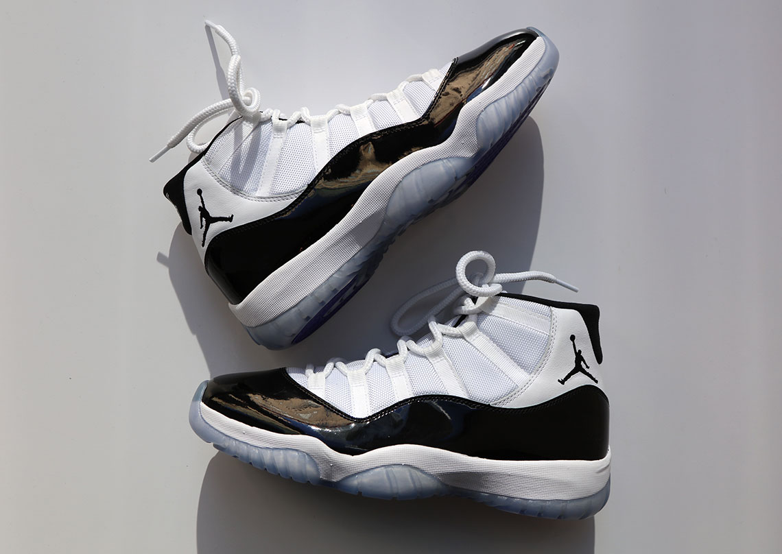 "competitive price 4fb74 6148d Reminder! The Air Jordan 11 ""Concord"" Arrives This Weekend ..."