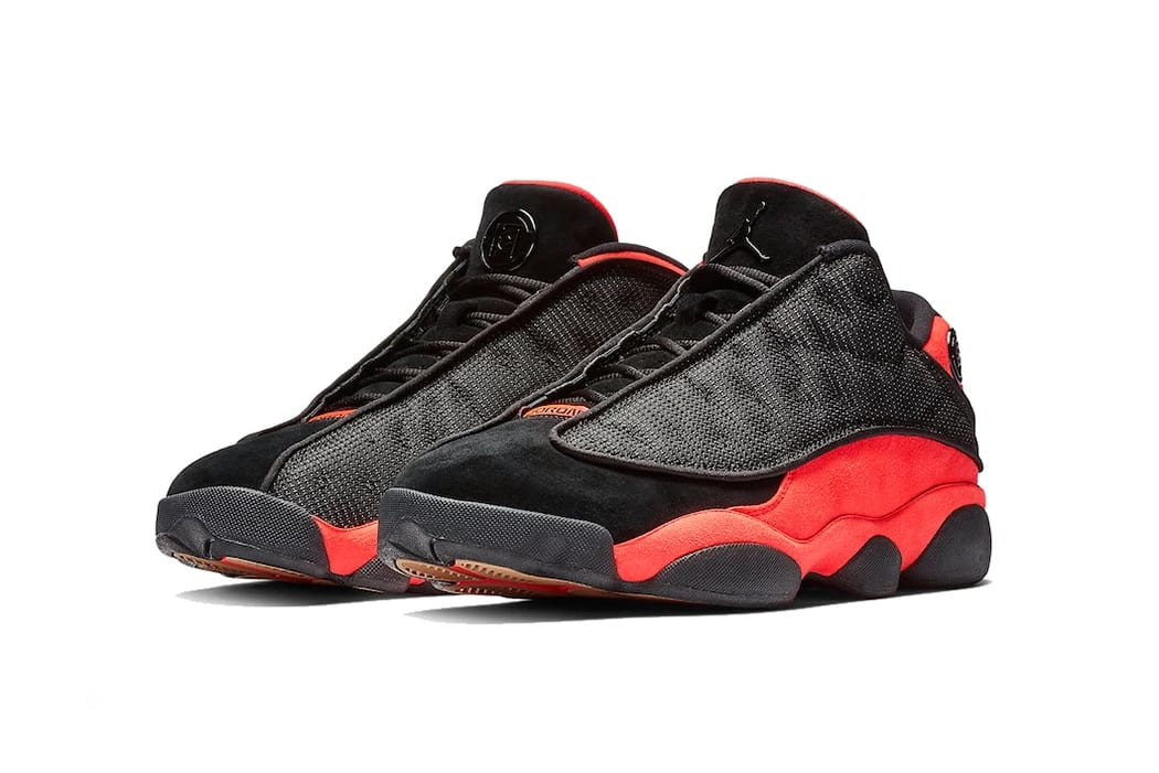 c6b594c34c3 Here's an Official Look at the CLOT x Air Jordan 13 Low