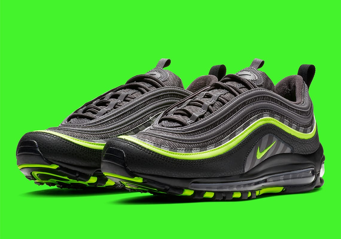 """Looking Good in Green: Nike Air Max 97 """"Thunder GreyLime"""