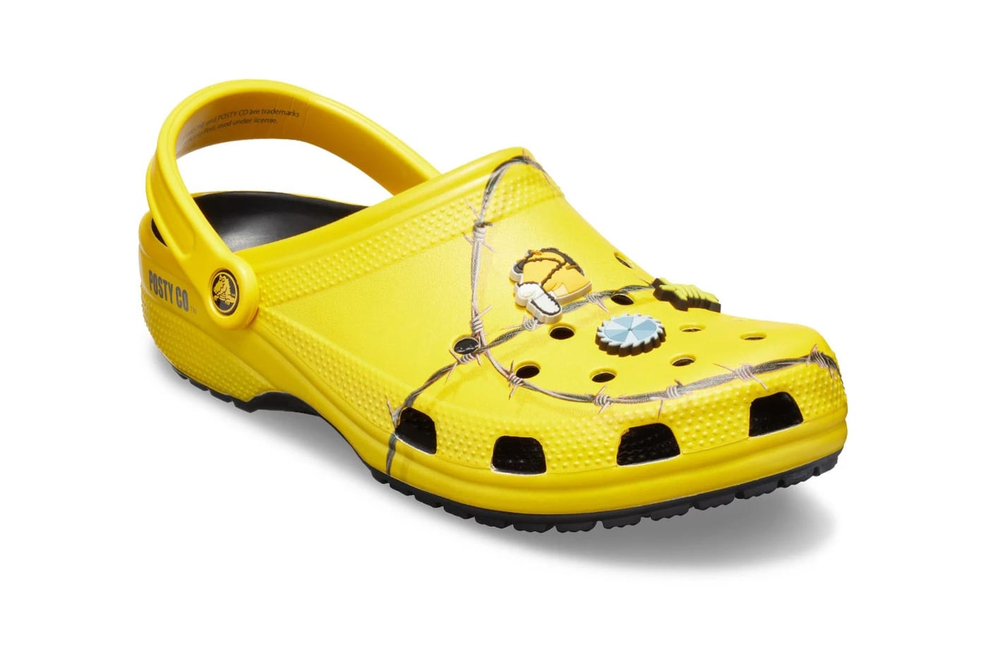 Post Malone Barbed Wire: Post Malone & Crocs Deliver As Promised On A Second Clog