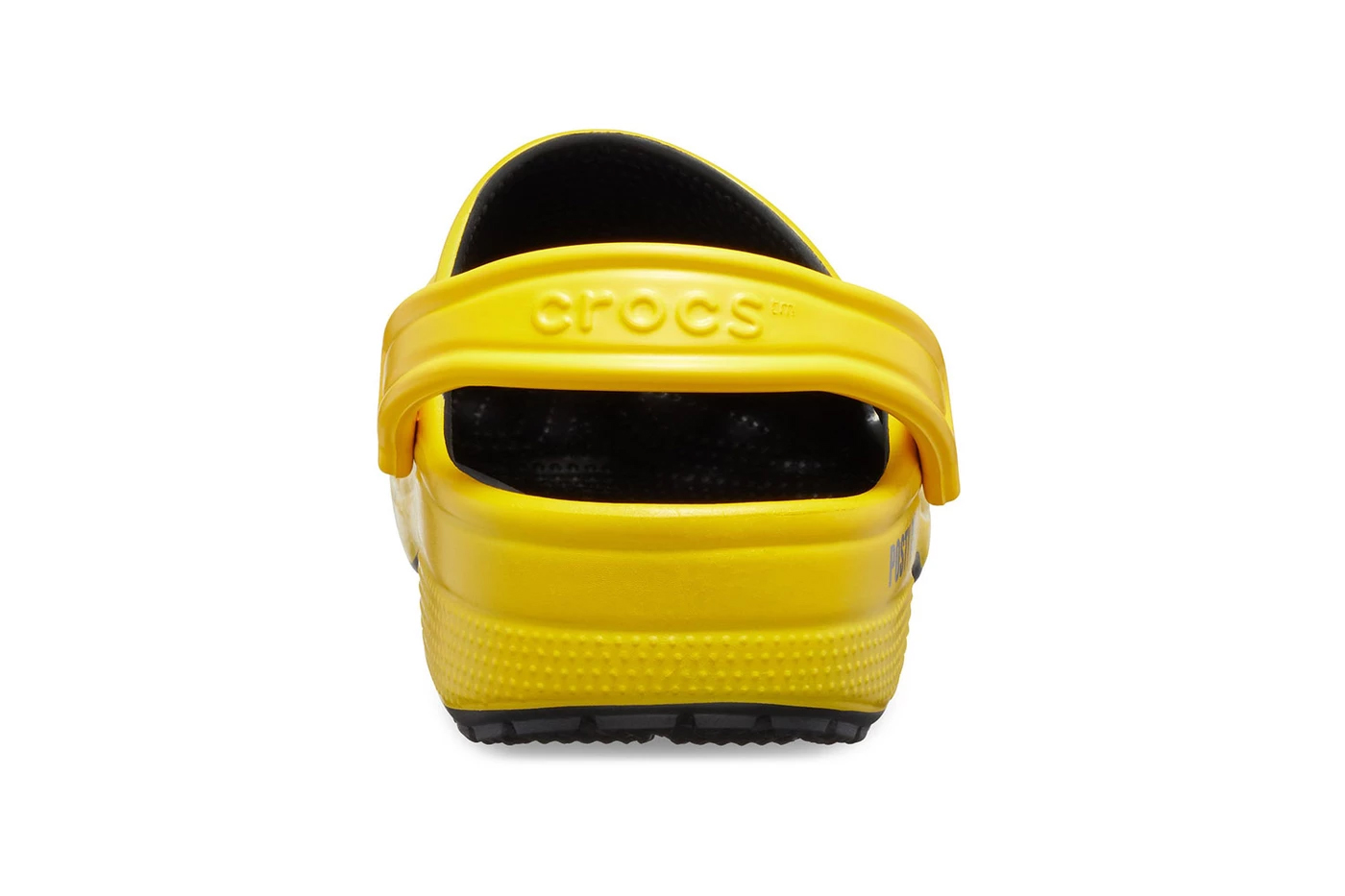 548c77e69 This new iteration of the Classic Clog features a yellow base — the color  has become synonymous with Post Malone s movement so far — which also  incorporates ...