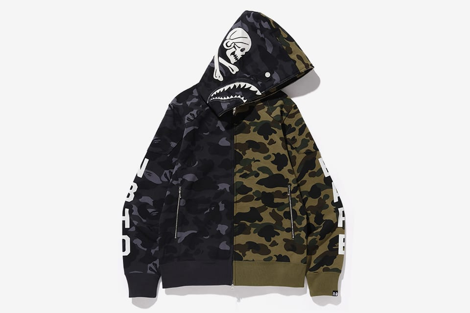8910a4929 ... x BAPE collab to launch initially at HOODS Hong Kong this Saturday  (December 22), followed by a wider release at BAPE's flagships in China and  Japan ...