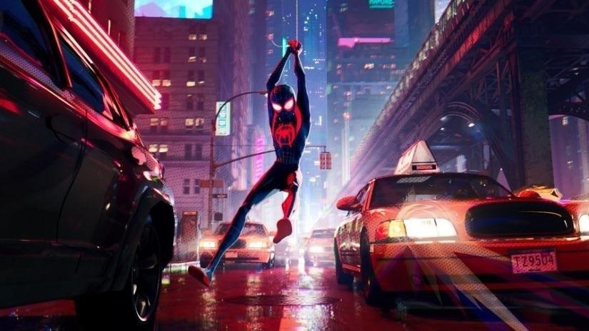 'Spider Man:IntoTheSpider Verse'SwingsIntoTopSpotattheBoxOffice