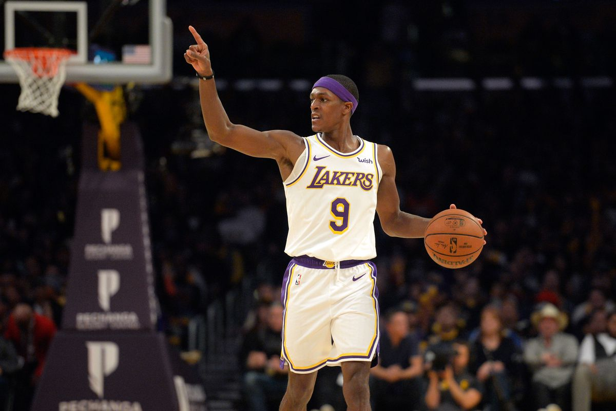 Los Angeles Lakers  Rajon Rondo Could Miss a Month of Action  a16bcc04e