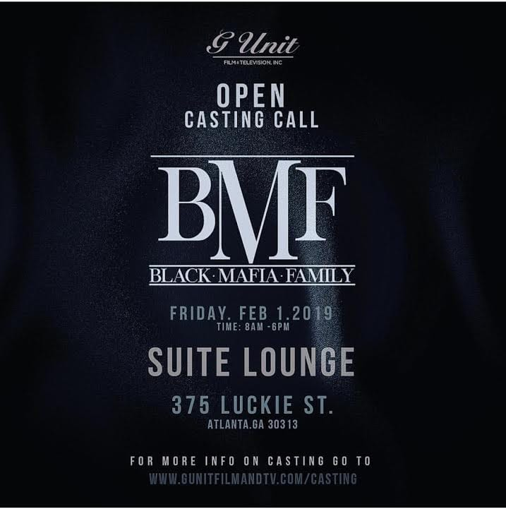 50 Cent Announces Open Casting Call In ATL For 'BMF' Movie