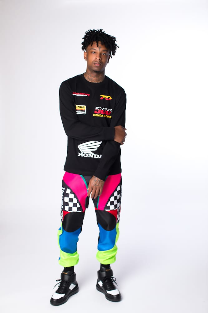 21 Savage Helps Forever 21 Launch Its Motorsport Capsule