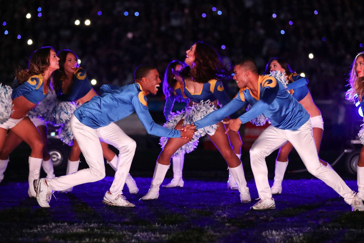 L.A. Rams' Male Cheerleaders to Make History at This Year's Super Bowl