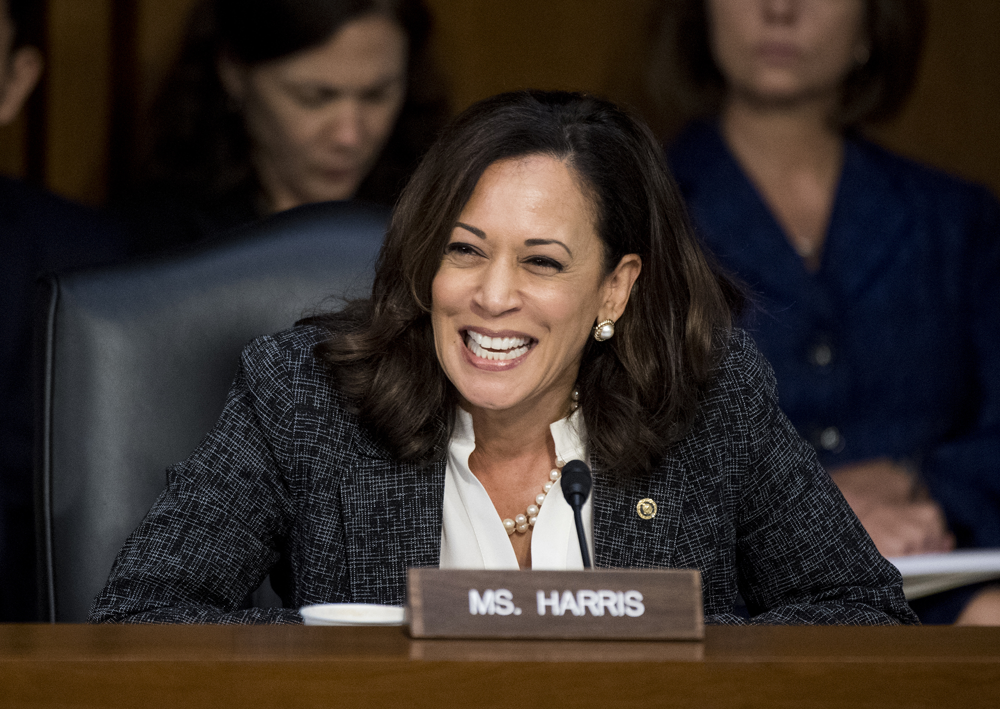Kamala Harris Announces She's Running for President 2020
