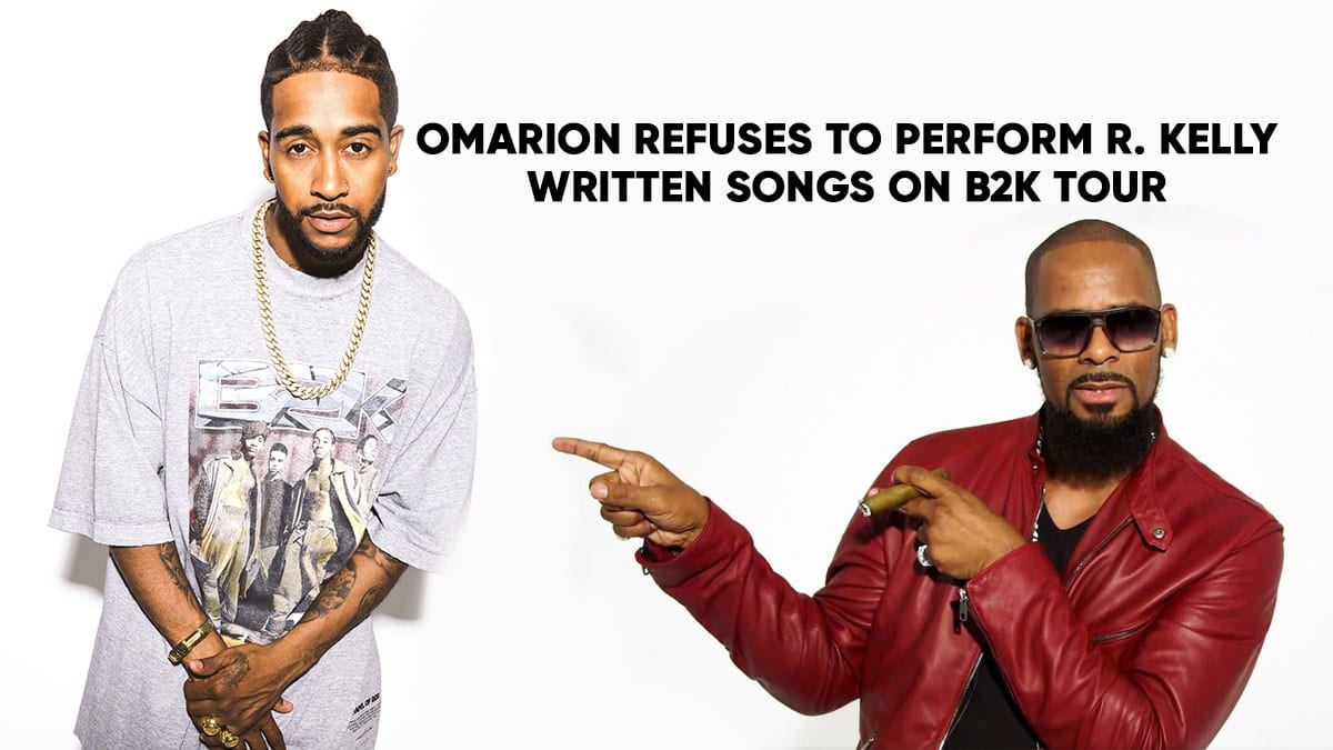 Omarion Refuses to Perform R  Kelly Written Songs At B2K Reunion Tour