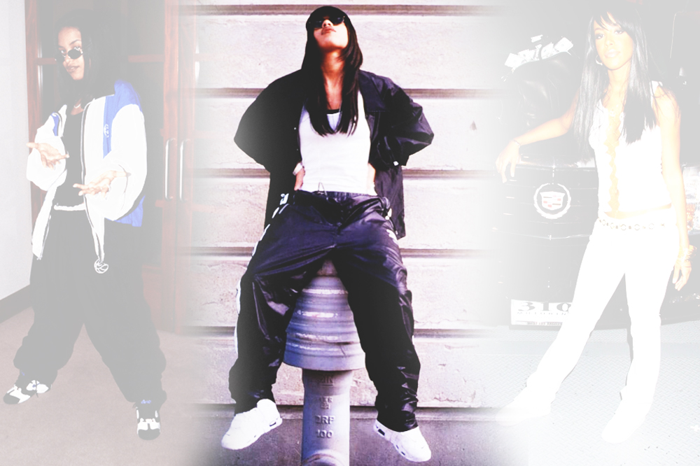 aaliyah  greatest sneaker moments