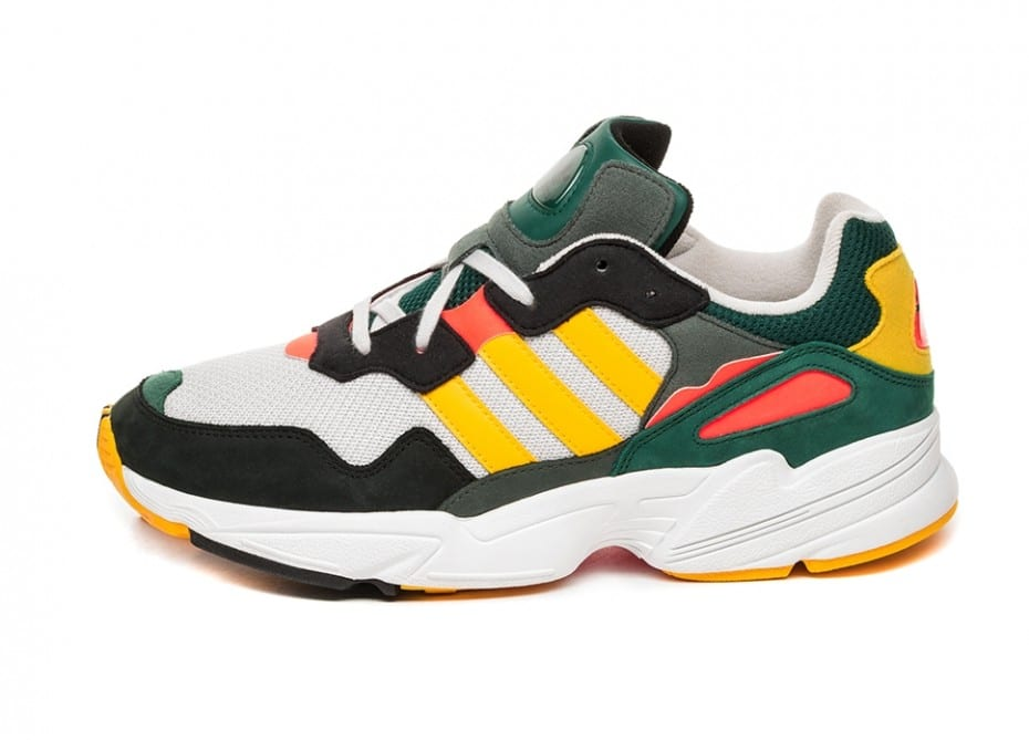 """new product b98af 1bc6d With custom colors like """"Bold Gold,"""" """"Solar Red"""" and """"Grey One"""" to balanced  out the black, white and hunter green accents, this silhouette is just one  big ..."""