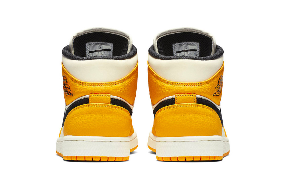 e425d62ed29 Expect the Lakers-themed Air Jordan 1 Mid to retail for  120 USD in the  very near future
