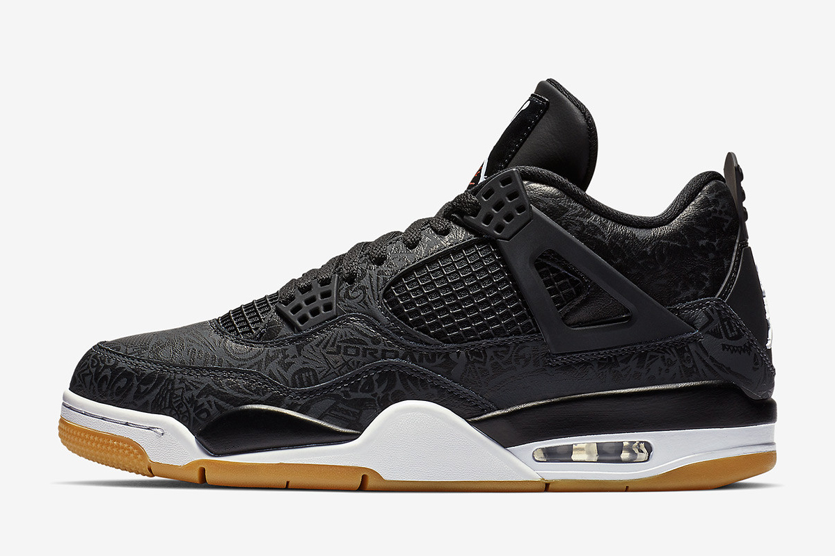 "The Air Jordan 4 Gets a Commemorative 30th Anniversary ""Black Laser""  Colorway 21f7c6d37"