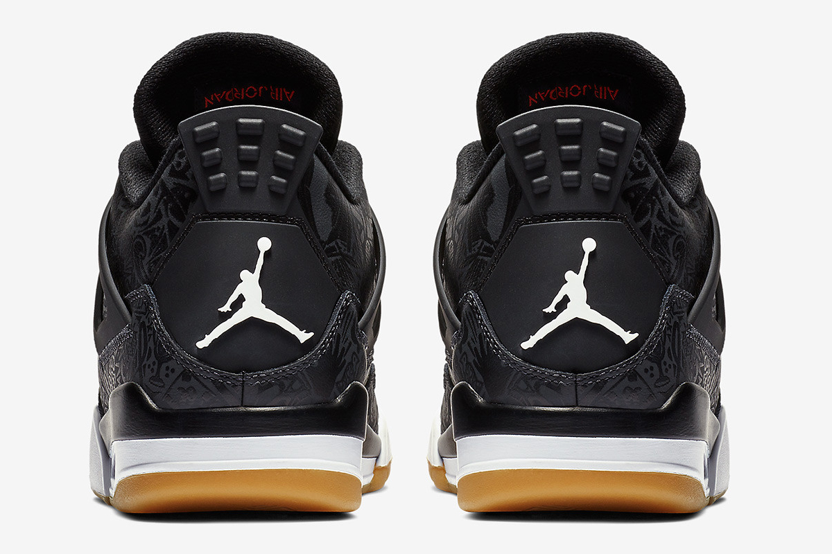 "5f5a9ba9d531 Pick up the 30th Anniversary Air Jordan 4 ""Black Laser"" right now for  200  USD at select JB retailers and online. See more images of the commemorative  ..."
