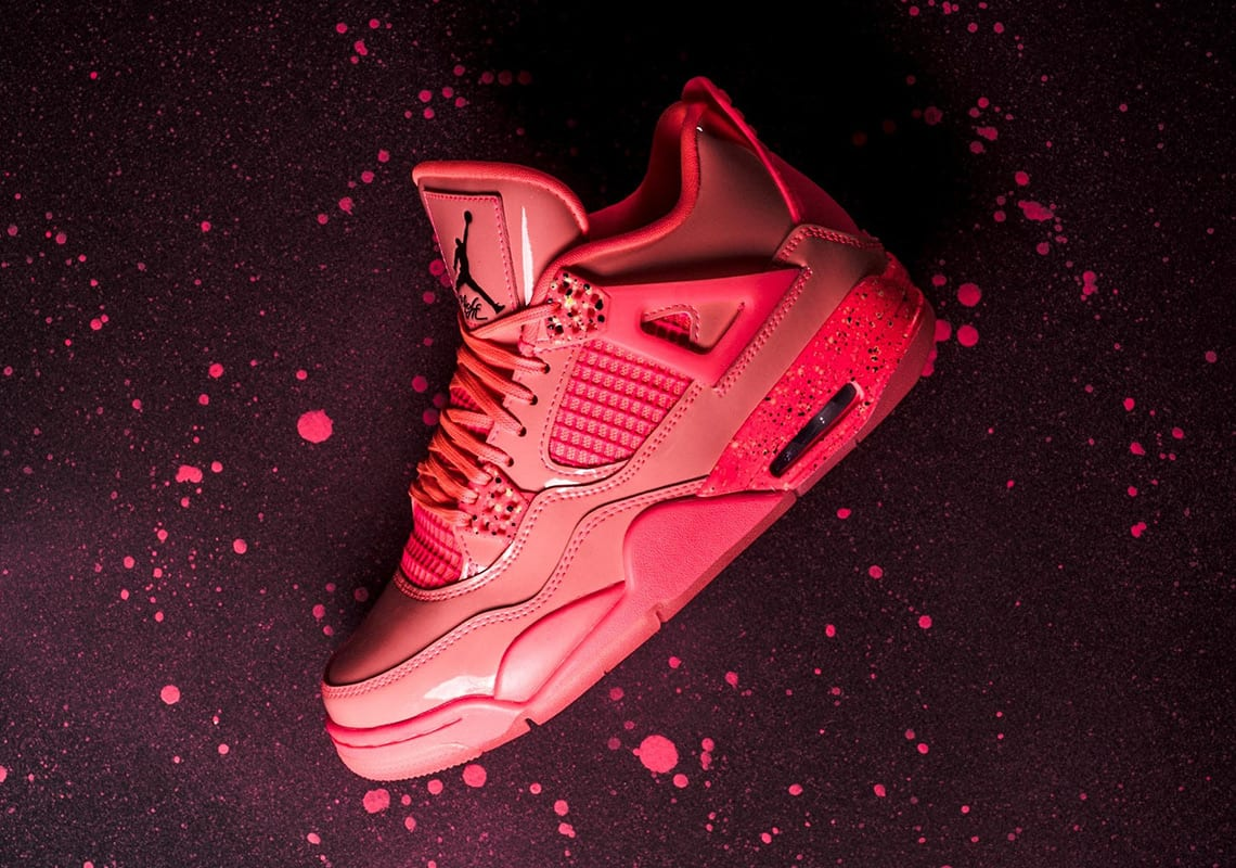 "best website 6b229 5e8fa For the Ladies  Air Jordan 4 WMNS NRG ""Hot Punch"""