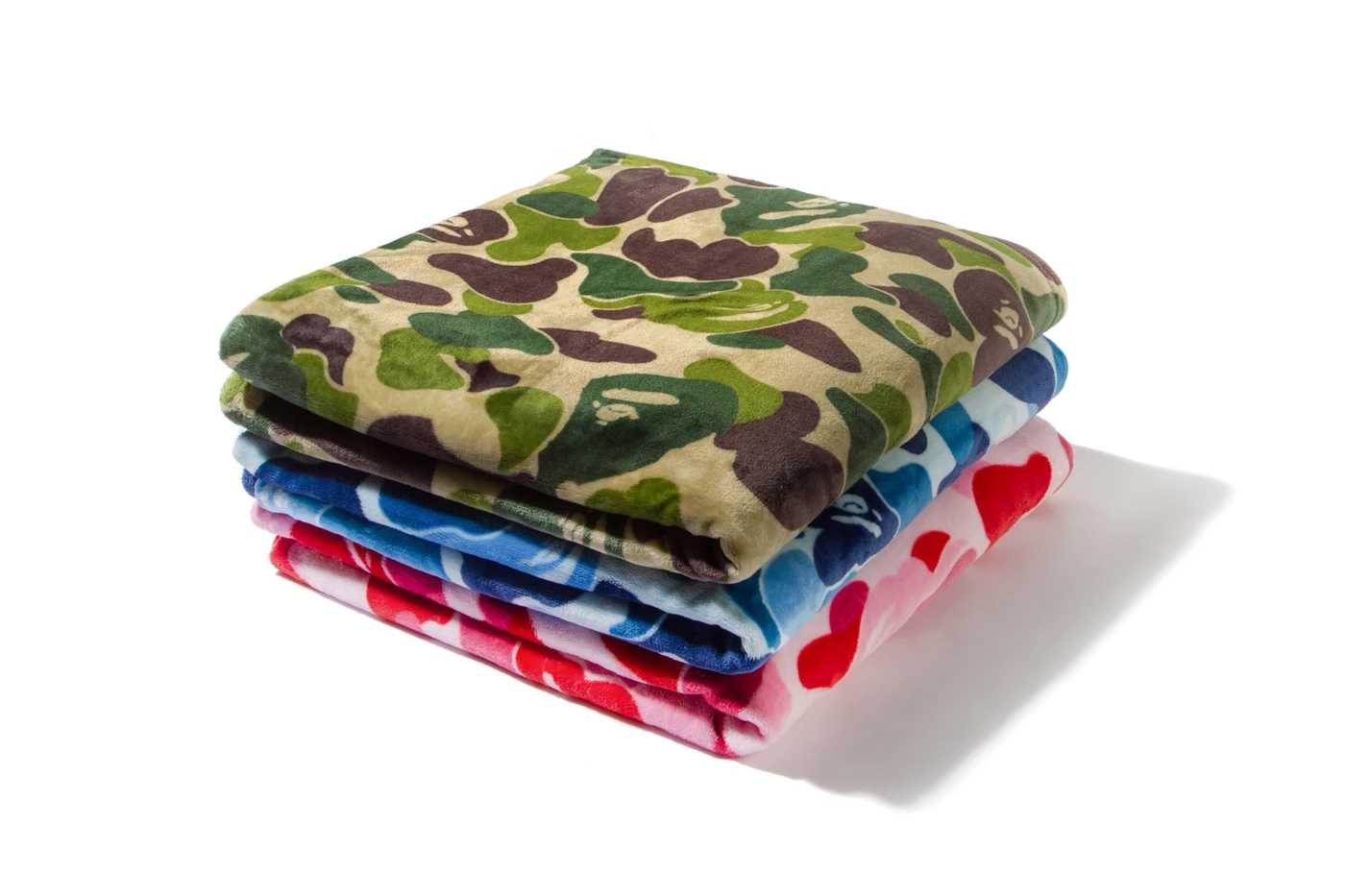 bape abc camo blankets vip bapepoints