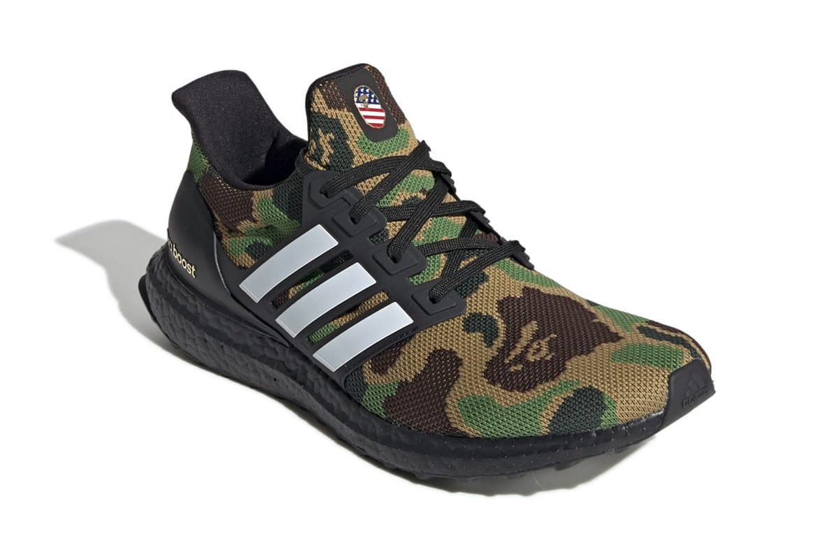 low priced 252e4 e497a Look for the BAPE x adidas UltraBOOST to arrive on February 2. Get a look  at both colorways below