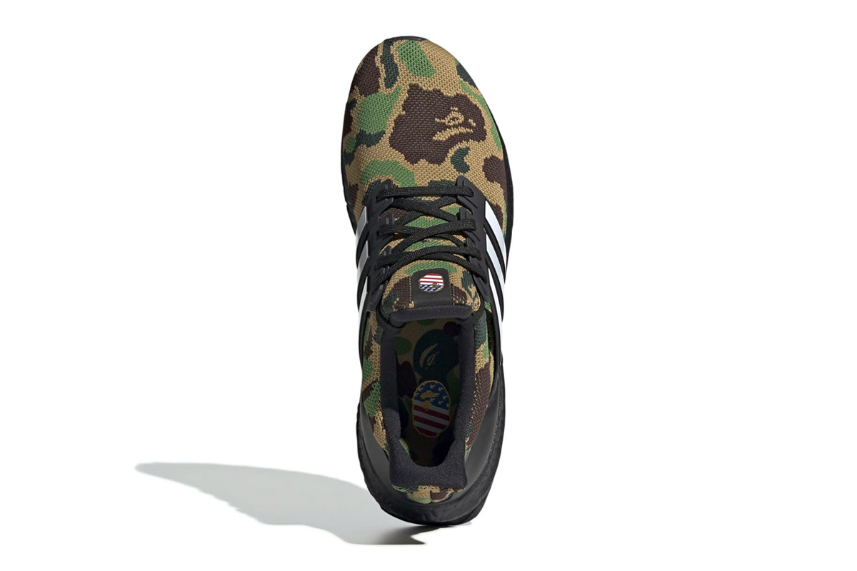 purchase cheap d40d3 4c177 Take a Look at the Upcoming BAPE x adidas UltraBOOST ...