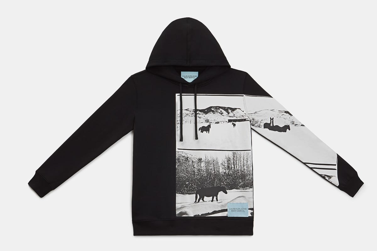 calvin klein jeans andy warhol landscapes collection