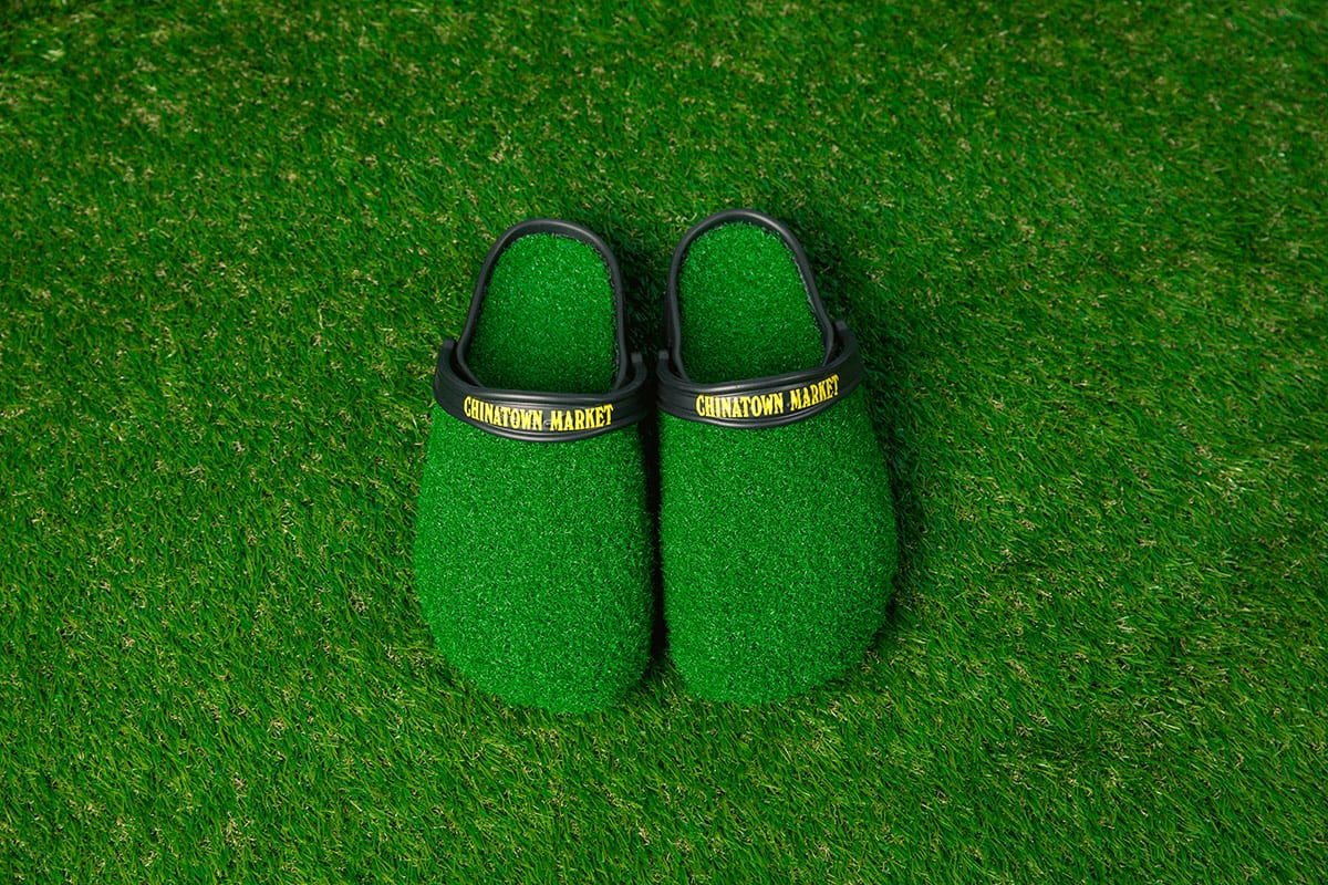 b162f450b32a8 Chinatown Market   Crocs Are the Latest to Make Footwear That Looks Like  Grass