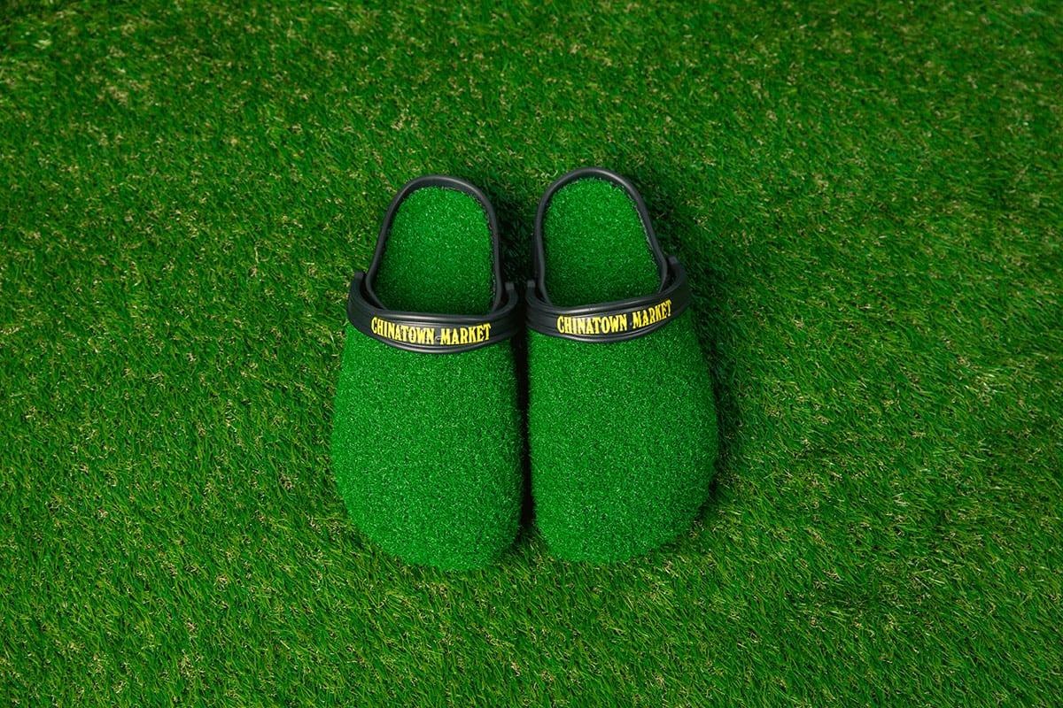 chinatown market crocs grass clog