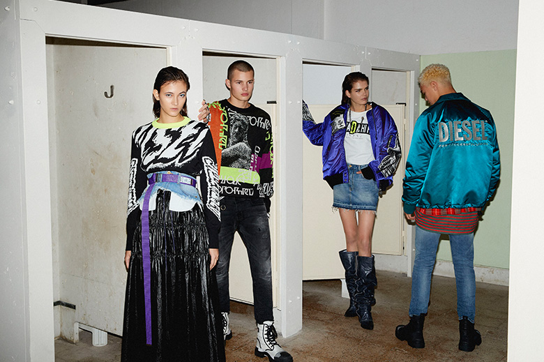 0a3bbf6f Diesel Borrows from Berlin's Streetwear Scene for Pre-Spring 2019 Collection