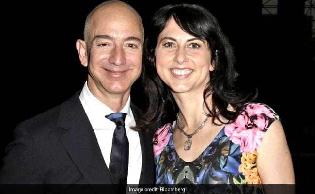 Amazon CEO Jeff Bezos Worth $137 Billion and Wife MacKenzie Announce Divorce