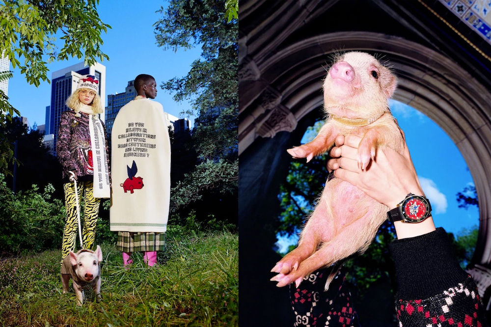 """abc44a884a61 Get the Gucci """"Chinese New Year"""" collection right now via the brand's  online shop, and take a look at all the Three Little Pigs-themed pieces  below:"""