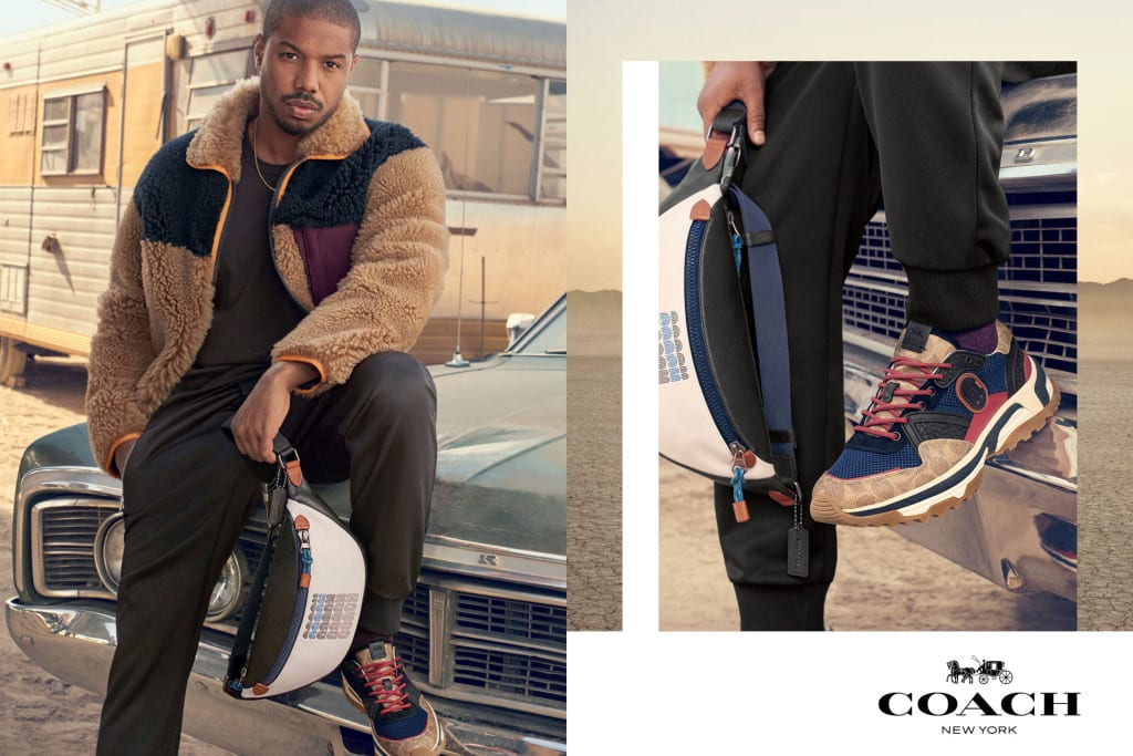 a8596298c1dc See Michael B. Jordan s First Ads as the Global Menswear Ambassador for  Coach