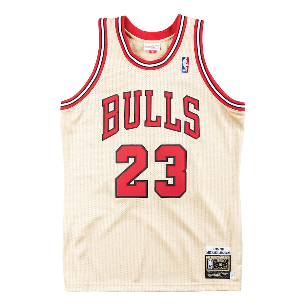 the latest cc20f 5750a Shop Now: Mitchell & Ness Gold 1995-96 Michael Jordan ...