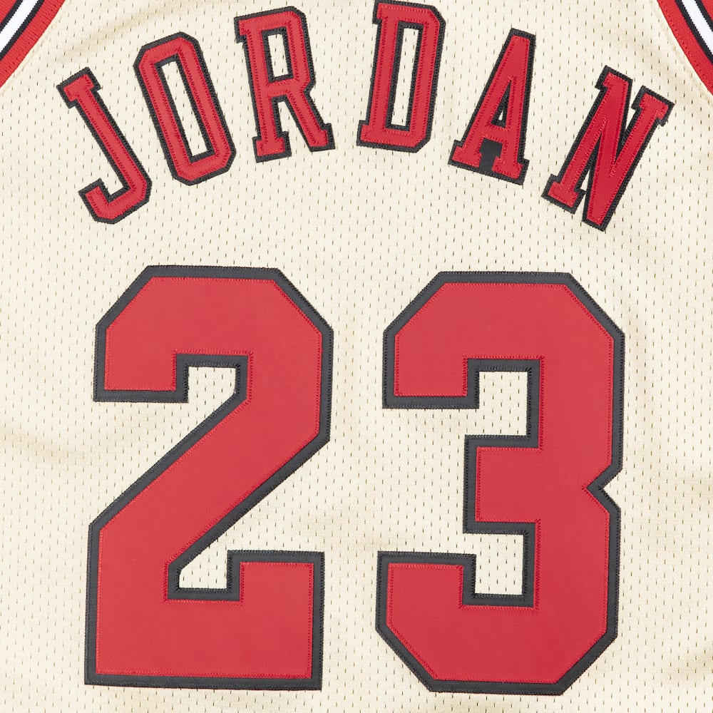 the latest 65af2 ec4cb Shop Now: Mitchell & Ness Gold 1995-96 Michael Jordan ...