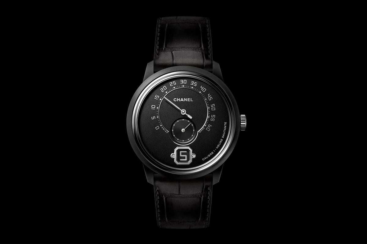 monsieur de chanel edition noire watch