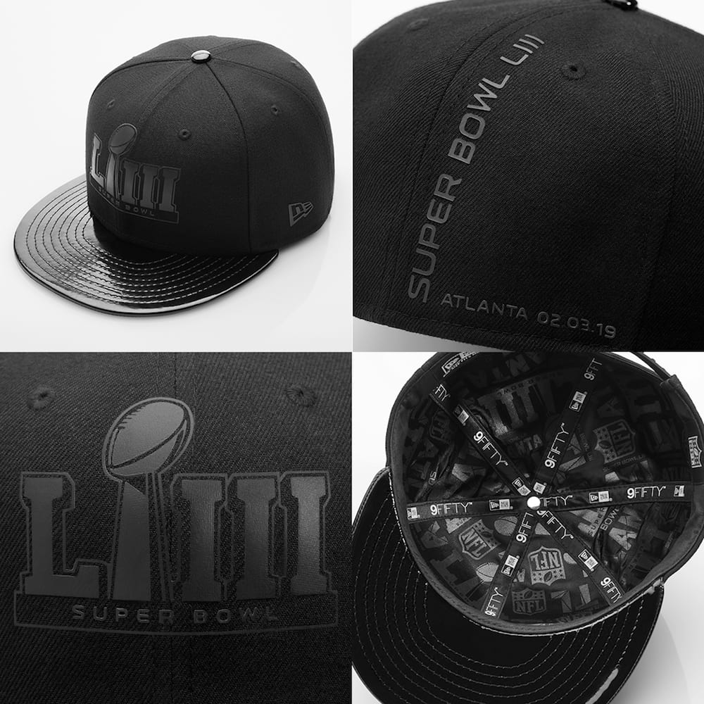 bb11a7c1285 New Era Stays Neutral With Super Bowl LIII Caps for Rams   Patriots ...
