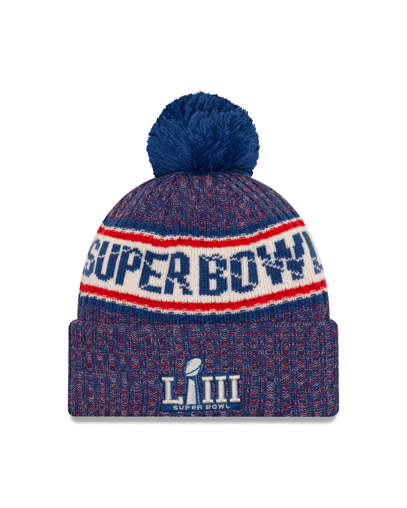 6f43d932a16 The heritage headwear brand unveiled this week a full Super Bowl  LIII-themed collection