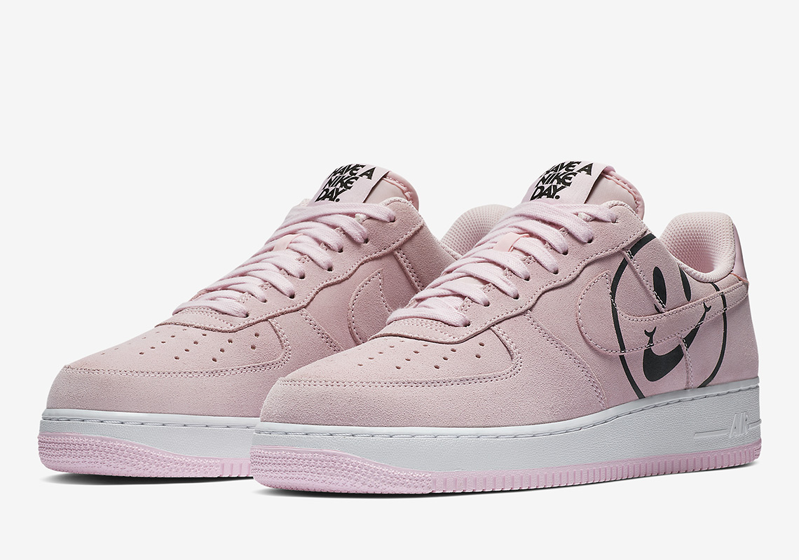 """sports shoes fb139 5ff00 Take a look at both colorways for the Air Force 1 """"Have a Nike Day"""" below,  which is expected to arrive soon on Nike.com along with the rest of the  pack:"""