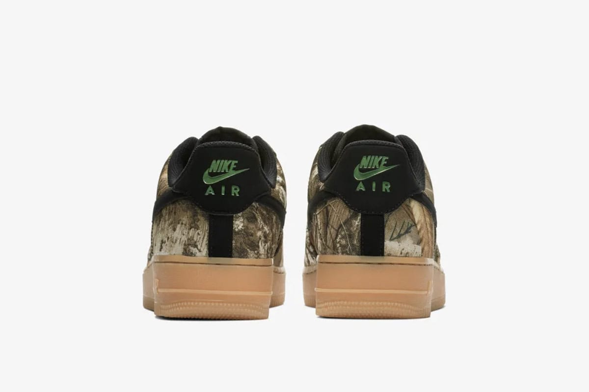 The set includes three colorways displayed over a full canvas upper, with  the Realtree print completely covering the silhouette except for the black  Swoosh, ... 2d8348b7b125
