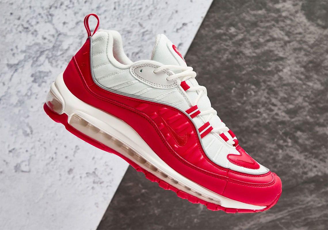 "new style 1b4ed 1442b Nike Air Max 98 ""University Red"""