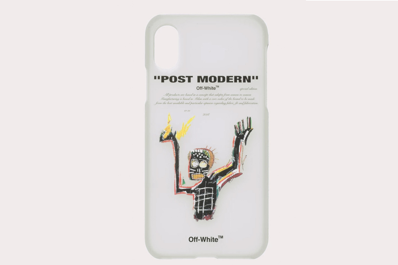 OFF-WHITE™ Made $91 Basquiat iPhone Cases That Are Already Selling Out