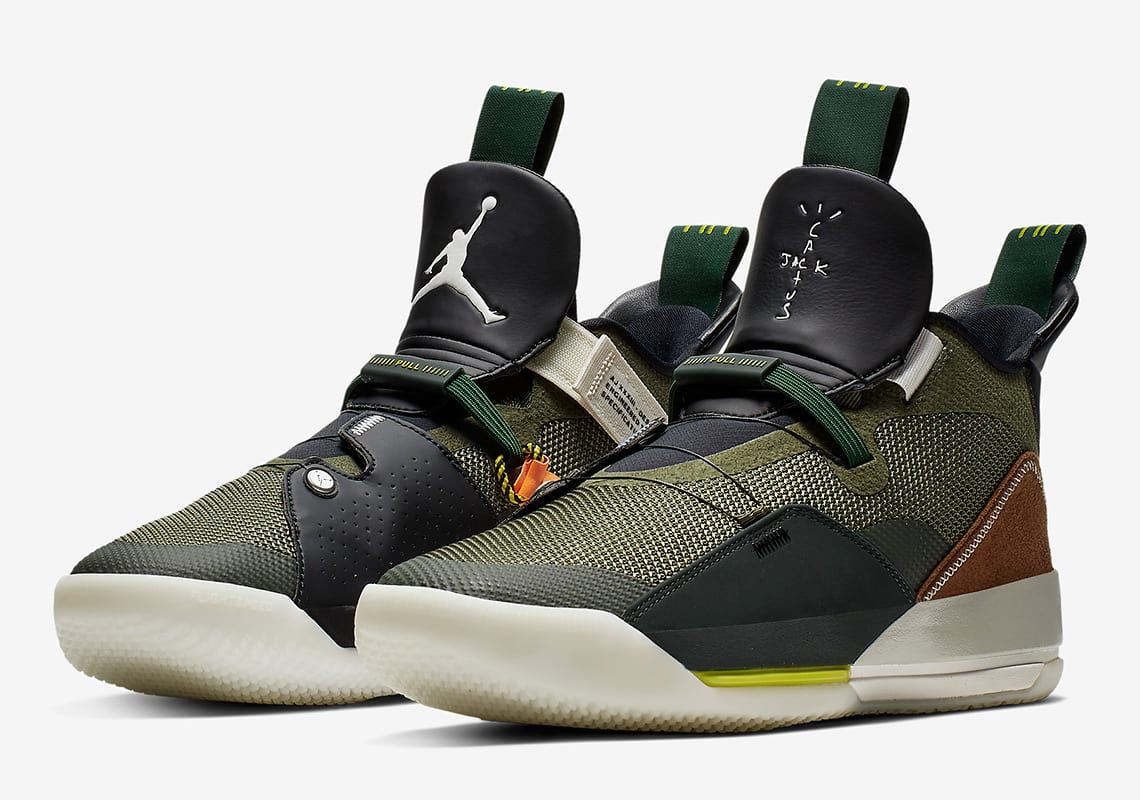 c8f1f6342b2b Here s An Official Look at the Travis Scott x Air Jordan 33