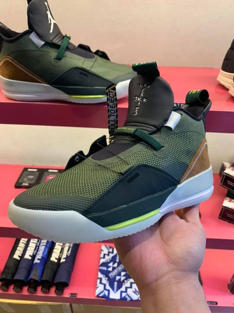 66139c1cc46 The rapper's latest Swoosh delivery appears to be a new iteration of the Air  Jordan 33, the latest model in Michael Jordan's iconic signature series.