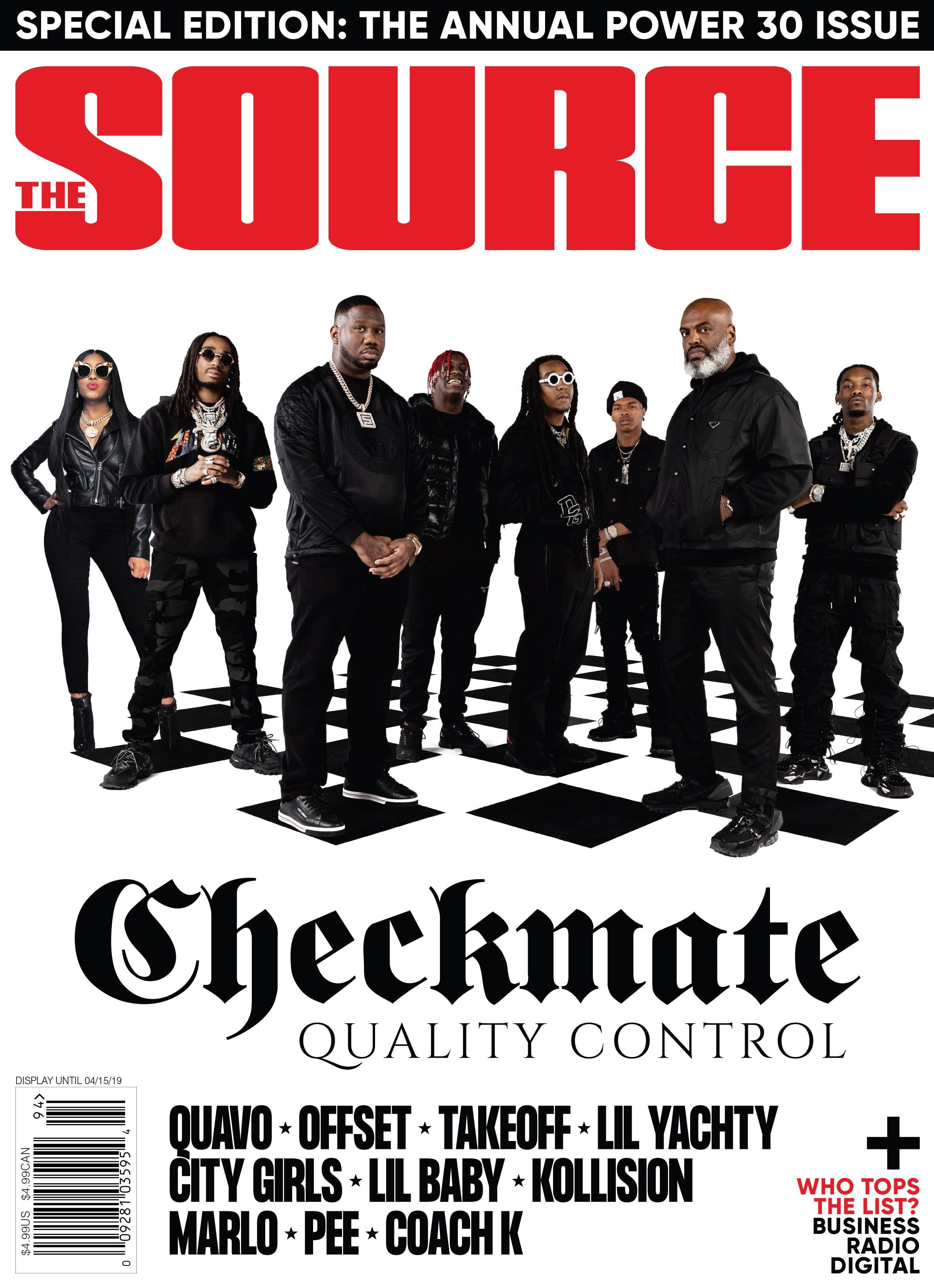 Exclusive: Quality Control Music, Migos, Lil' Yachty, Lil' Baby & City Girls Crown The Source POWER30 Cover