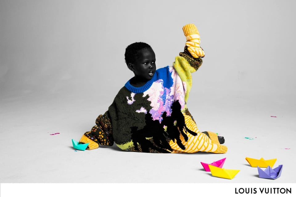 5f0d4e8725f6 Virgil Abloh s Debut Louis Vuitton Campaign Takes Cues From the Colorful  Days of Benetton Ads